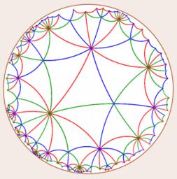 A Bolyai geometria – szemléletesen