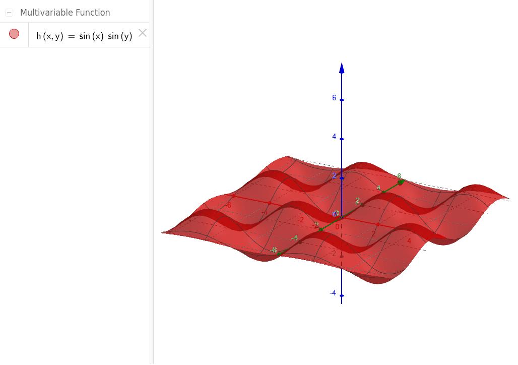 """Zoom in and out: grid on surface follows xOy grid Tapez """"Entrée"""" pour démarrer l'activité"""