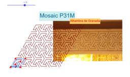 Mosaic P31M de l'Alhambra de Granada