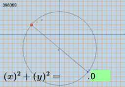 Circunferencia dado uno de sus diametros