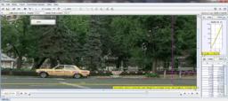 Egyenletesen mozgó gépjármű mozgása – Videoelemzés