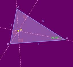 Hauteurs d'un triangle et l'ortocentre