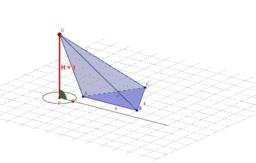 Kopia Ostrosłup o podstawie trójkąta równobocznego - 3