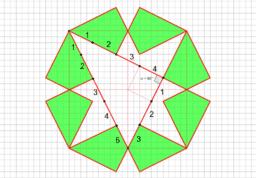Egiptian Triangle by Paper Folding(6)
