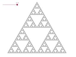 Trójkąt Sierpińskiego/Sierpiński's triangle
