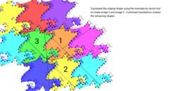 Rectangle Translation Tesselation Step Six