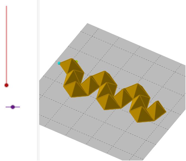 La idea original de David que dóna lloc al dodecaedre ròmbic. Premeu Enter per iniciar l'activitat