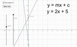 Matching straight line graph