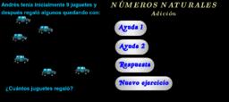 Números naturales - Suma 2