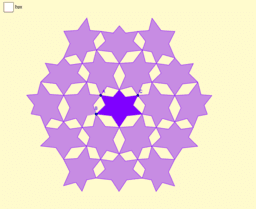 Hexagonal Star