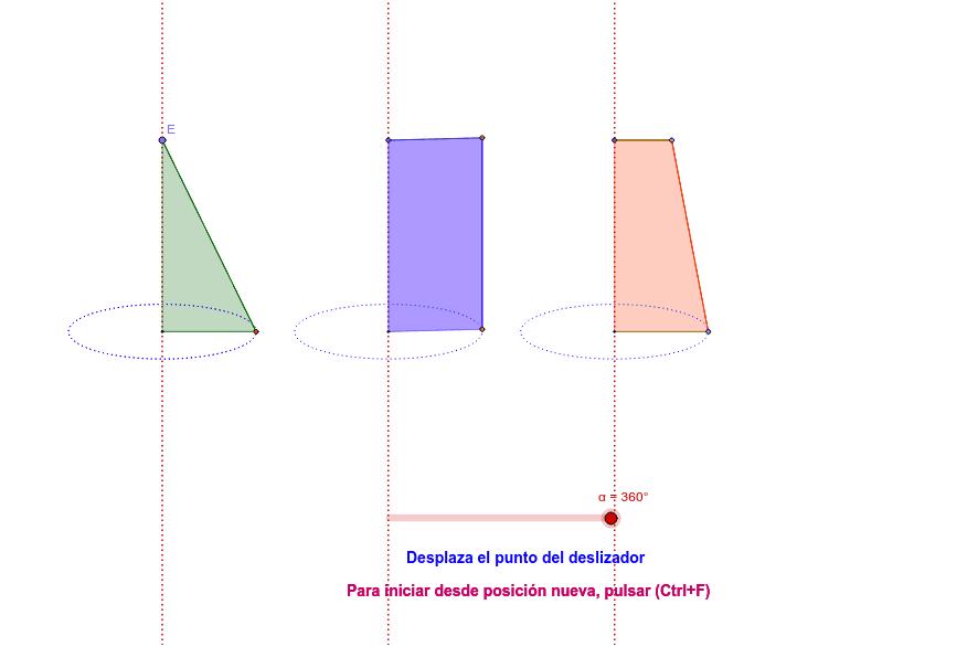 Visualización de un Solido en revolución.