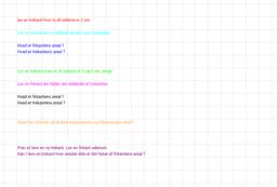 trekanter og firkanters areal