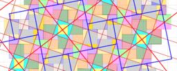 Pythagorean Tessellation # 31 Tiling