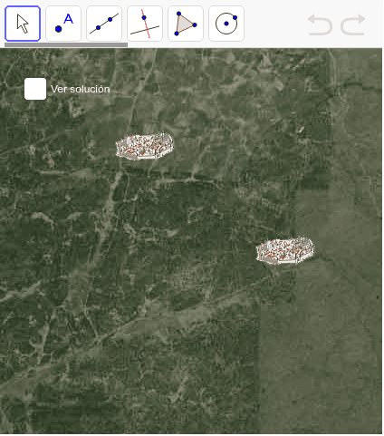 ¿Dónde construir un colegio entre dos pueblos y que ninguno se sienta perjudicado?