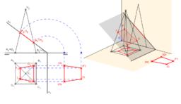 DT2. Diédrico. Secciones. Problema 01.