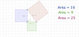 demostracion del teorema de pitagoras