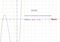 Graphen von Kubischen Funktionen - 1. Übung