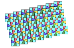 Pythagorean Theorem by Tessellation # 73 Tiling