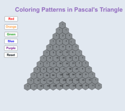 Finding Patterns in Pascal's Triangle