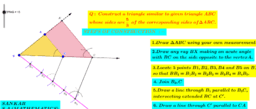 drawing similar triangles-1