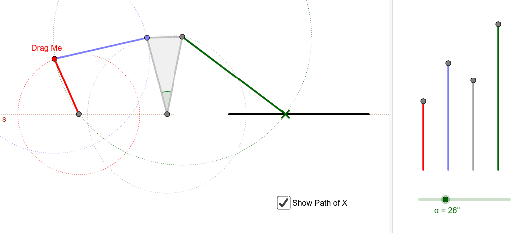 Quick-return Mechanisms – GeoGebra