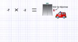 Multiplication de deux nombres entiers