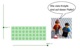 LEGO-Mathematik: Multiplikation und Flächeninhalt