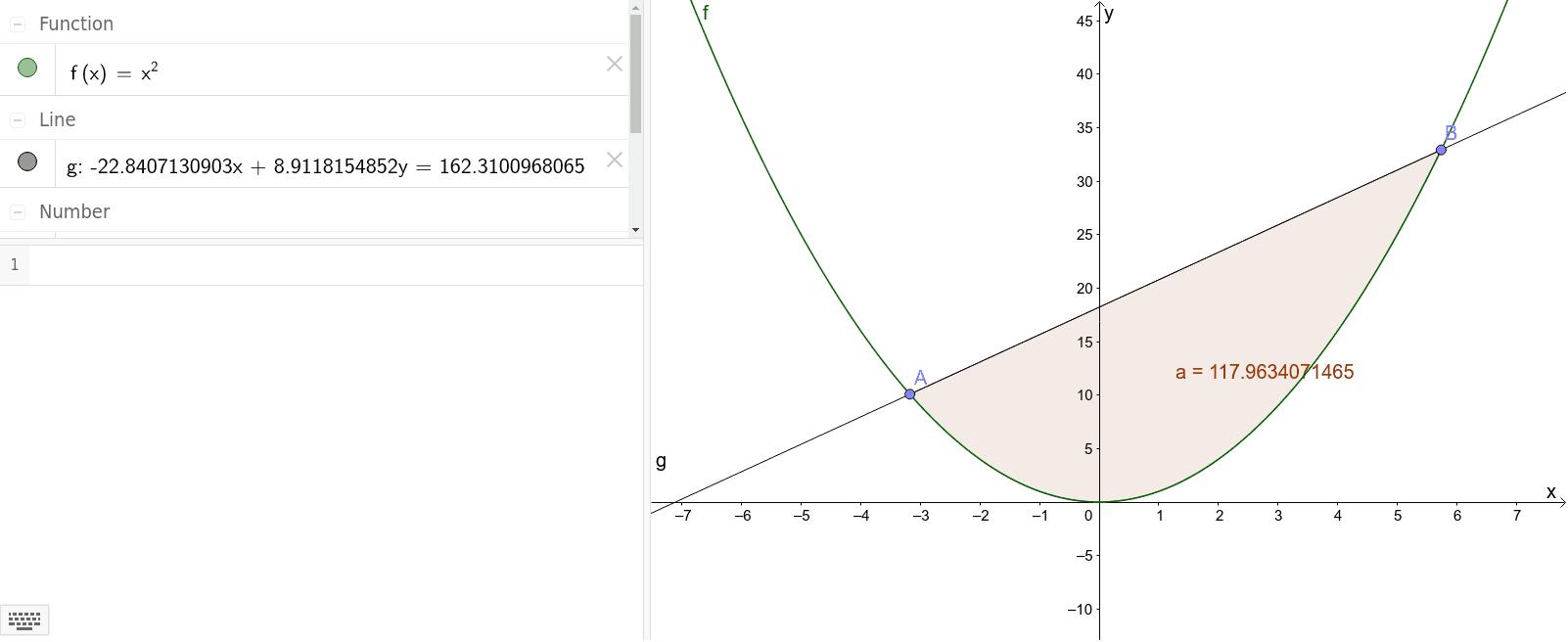 Oppgave 2 d (punkt på objekt)