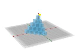 堆疊正立方體