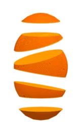 Taronja trossejada
