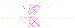 Kúp képe Monge-féle ábrázolásban