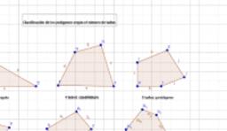 clasificación de los polígonos según su número de lados