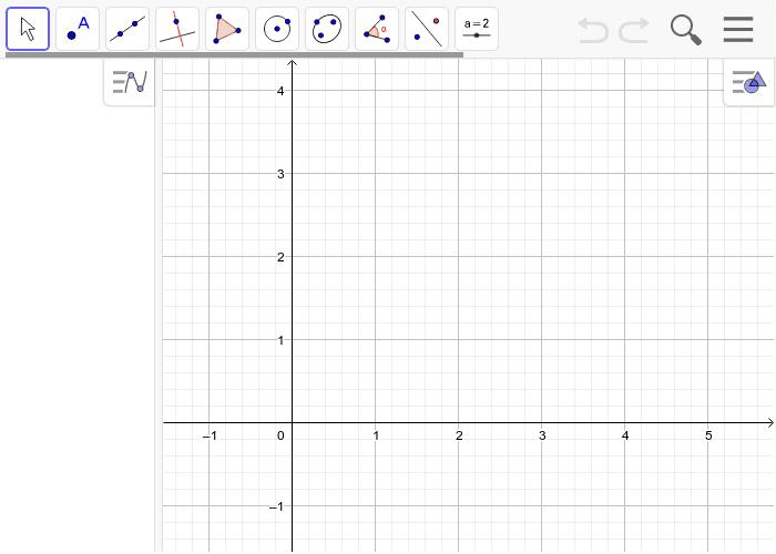 a) Berechne die Koordinaten des Punktes A, an dem er an der Bande aufprallt. Drücke die Eingabetaste um die Aktivität zu starten