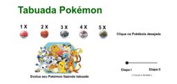 Tabuada Pokémon