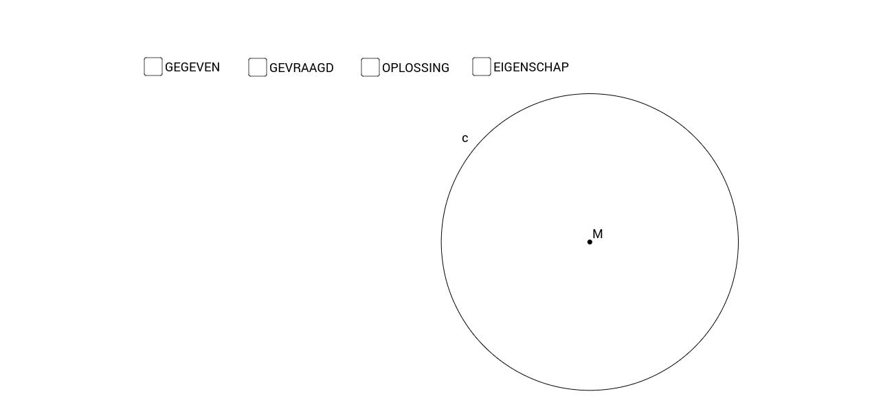 Middellijn en koorde - eigenschap 2