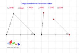 Samenvatting congruentiekenmerken