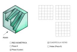 VISTAS/ISOMETRÍA (pieza 8)