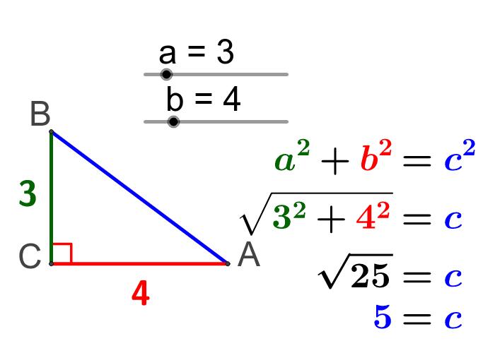 Ejercicio Teorema de Pitágoras 1 Presiona Intro para comenzar la actividad