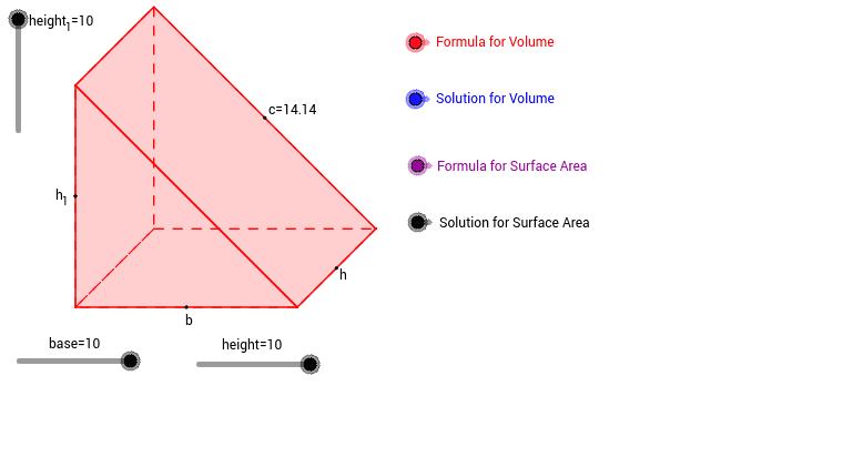 Όγκος τριγωνικού πρίσματος 2