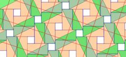 Pythagorean Tessellation  # 19 Tiling