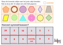 Wageningse Methode H13 Symmetrie: symmetrieassen