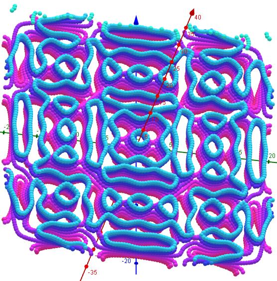 Chladni Figuren- 1 2 9, s=1, L=20   43-50
