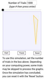 Acute and Obtuse Triangle Simulation