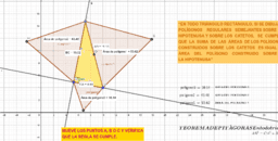Teorema de Pitágoras - Triángulos equiláteros