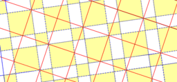Pythagorean Theorem by Tessellation # 20 Tiling