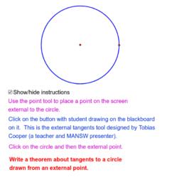 Circle Theorem 14