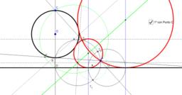 TANGENCIAS recta - punto - c