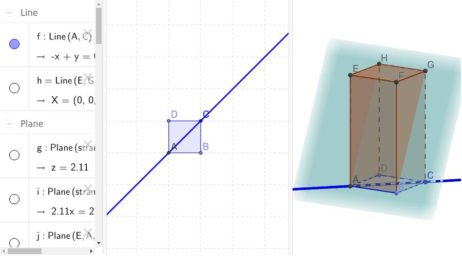 Kvadar, točke, pravci i ravnine u prostoru Pritisnite Enter kako bi započeli aktivnost
