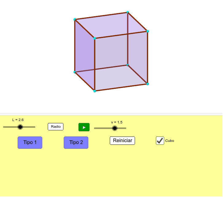 Hexaedro - Truncado Pressione Enter para iniciar a atividade