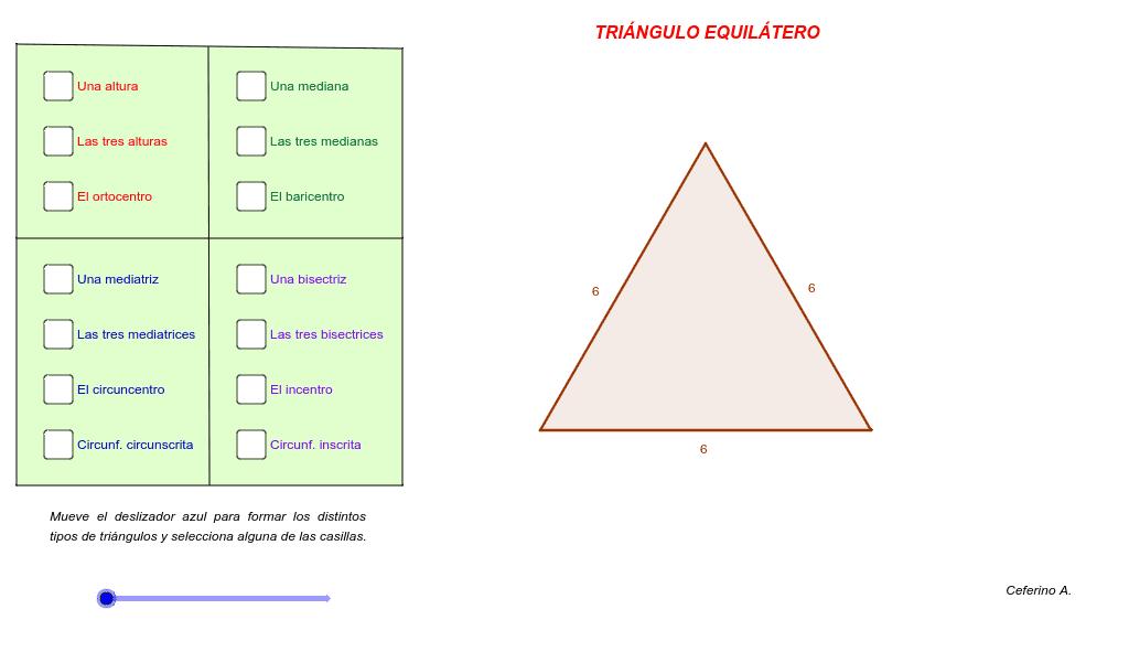 puntos y rectas notables triángulo